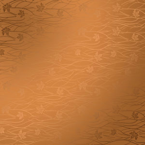 Кленовый листья бронза